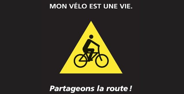 Mon vélo est une vie-logo